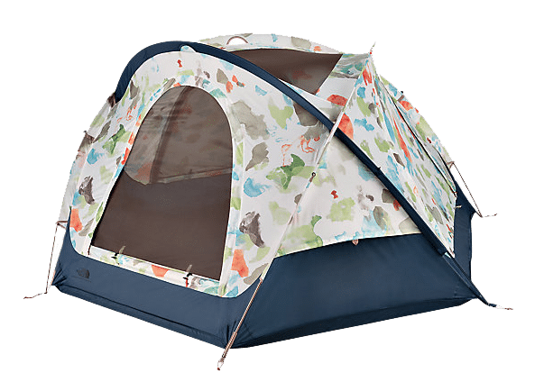 A Look at the North Face Colorful Camping Gear, Homestead Collection