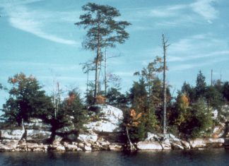 camping, boat-in campgrounds, campsite, top campsites