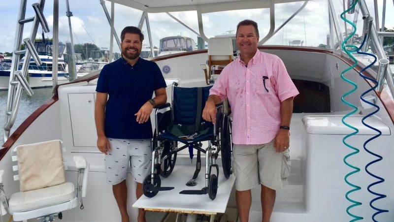 boating, fishing, wheelchair boat, boat
