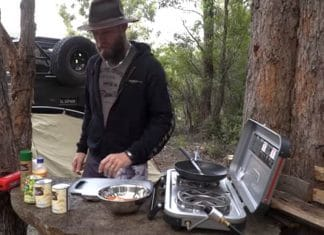 easy breakfast camping