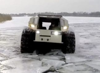 Amazing Russian ATV