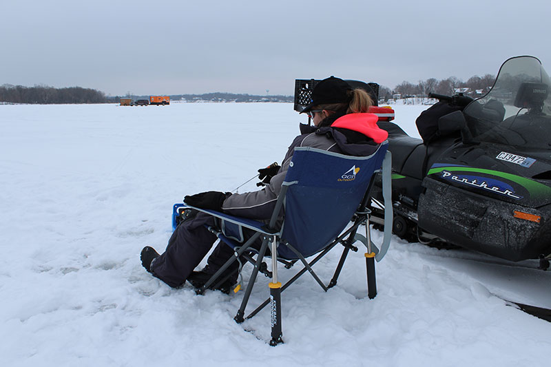 """Tips To Improve Your Ice Fishing Game From The """"Women On Ice"""" Club"""