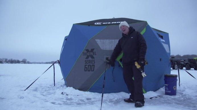 pop-up shelter