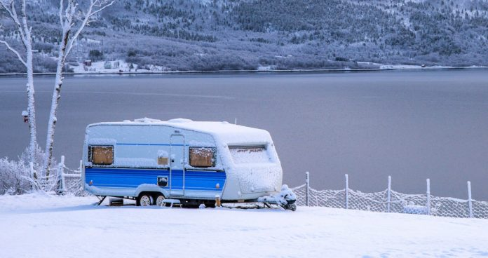 cold weather rv camping