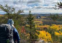 Lake superior hiking trail
