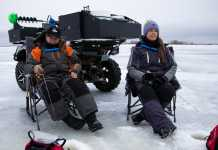 Gci outdoor ice fishing chair