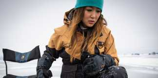 avid ice fishing gloves cover