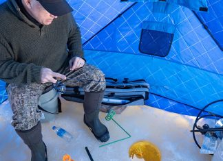 ice fishing tips